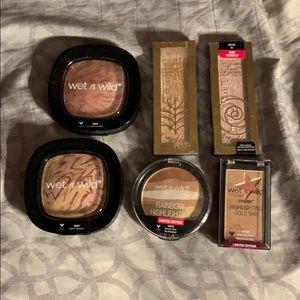 Wet N Wild Highlighter Bundle